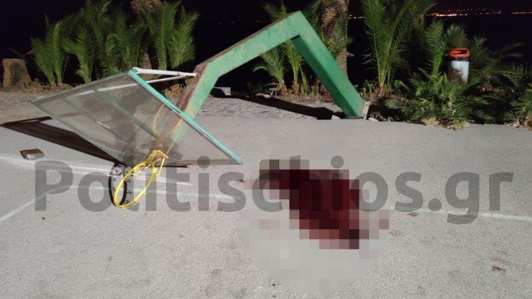 Απίστευτη τραγωδία : Μπασκέτα έπεσε και σκότωσε 19χρονο  (εικόνες) - Φωτογραφία 2
