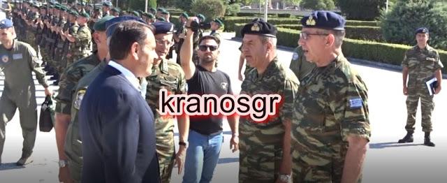 Οι επιχειρησιακοί Στρατηγοί Λαλούσης και Κούτρας και η ενημέρωση στον ΥΕΘΑ Νίκο Παναγιωτόπουλο - Φωτογραφία 1