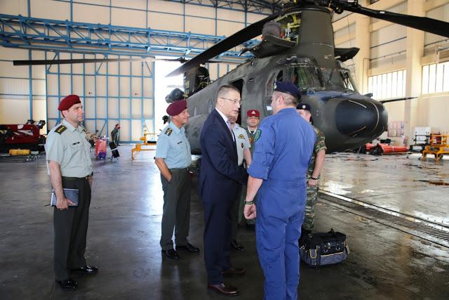 Επισκέψεις ΥΦΕΘΑ Αλκιβιάδη Στεφανή στο Ναυτικό Νοσοκομείο Πειραιά και στο 2ο Συγκρότημα Αεροπορίας Στρατού - Φωτογραφία 2