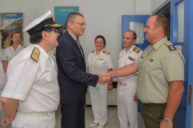 Επισκέψεις ΥΦΕΘΑ Αλκιβιάδη Στεφανή στο Ναυτικό Νοσοκομείο Πειραιά και στο 2ο Συγκρότημα Αεροπορίας Στρατού - Φωτογραφία 3