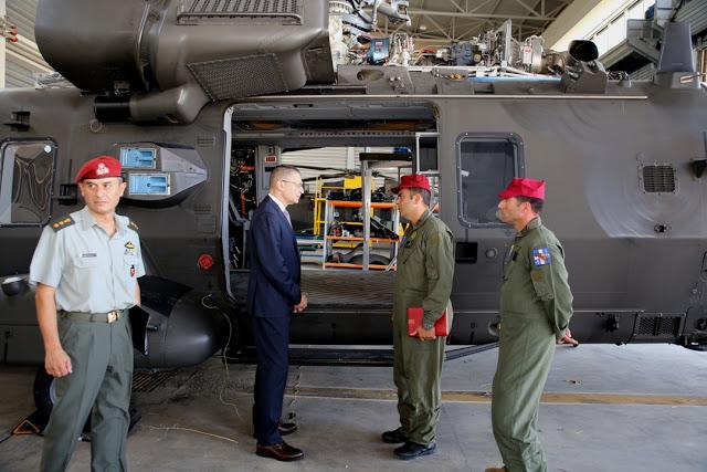 Επισκέψεις ΥΦΕΘΑ Αλκιβιάδη Στεφανή στο Ναυτικό Νοσοκομείο Πειραιά και στο 2ο Συγκρότημα Αεροπορίας Στρατού - Φωτογραφία 8
