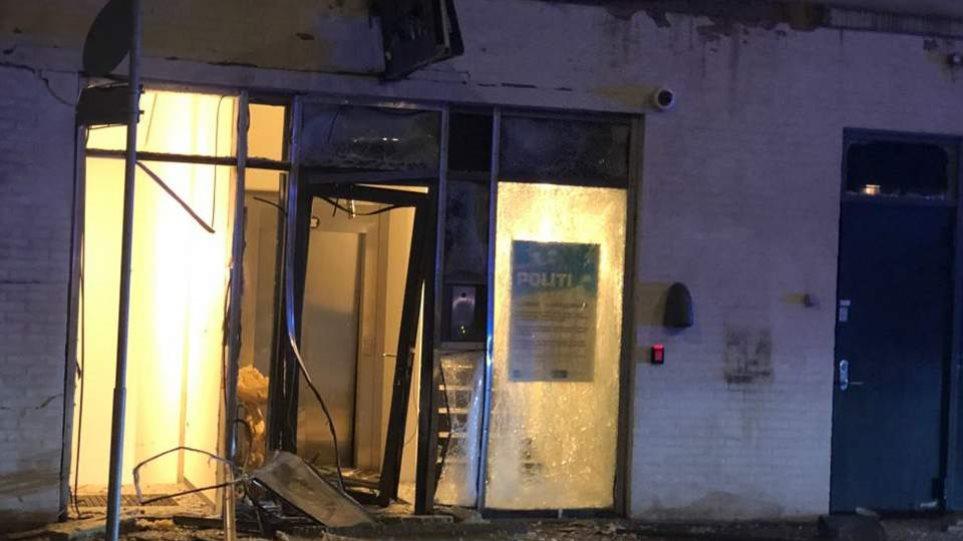 Έκρηξη κοντά σε αστυνομικό τμήμα στην Κοπεγχάγη - Φωτογραφία 1