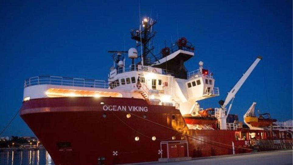 Διάσωση 85 μεταναστών από το πλοίο Ocean Viking - Φωτογραφία 1
