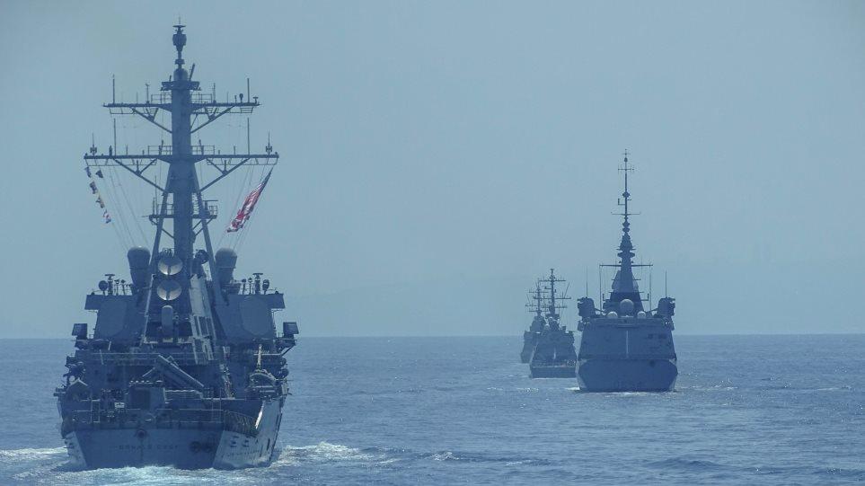 Φωτος: Γυμνάσια ναυτικών δυνάμεων από Ισραήλ, ΗΠΑ, Ελλάδα και Γαλλία - Φωτογραφία 1