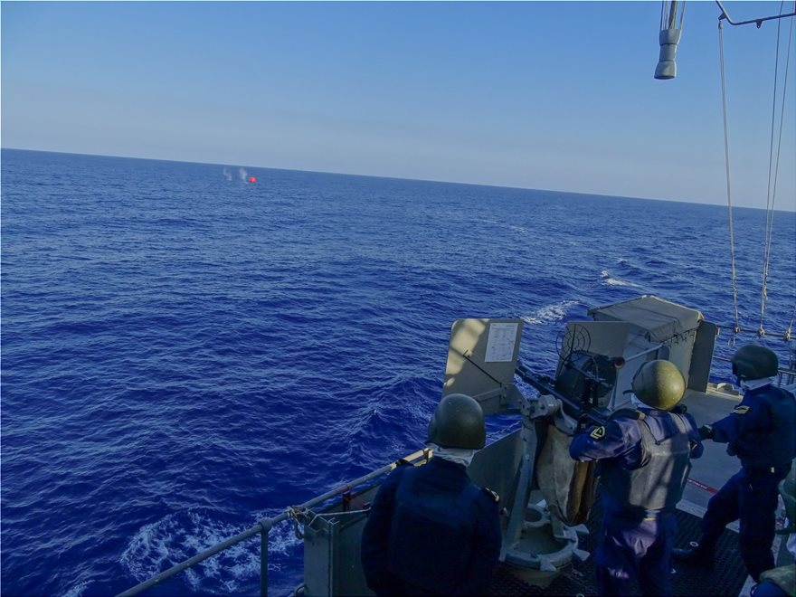 Φωτος: Γυμνάσια ναυτικών δυνάμεων από Ισραήλ, ΗΠΑ, Ελλάδα και Γαλλία - Φωτογραφία 6