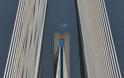 15 γαλανόλευκα χρόνια η σημαία ανεμίζει στους πυλώνες της Γέφυρας Ρίου – Αντιρρίου (video) - Φωτογραφία 2
