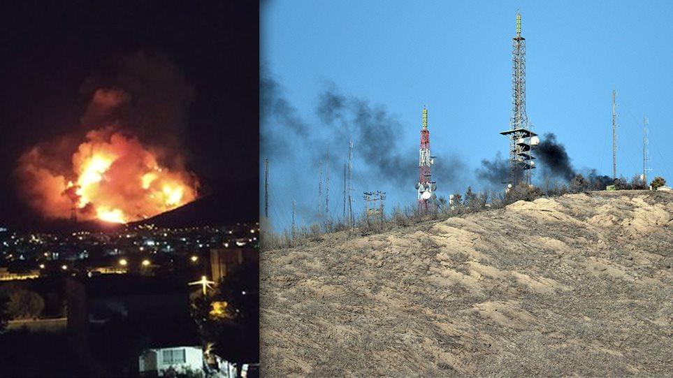 Φωτιά στον Υμηττό: Δεν υπάρχει ενεργό μέτωπο λέει η πυροσβεστική - Φωτογραφία 1