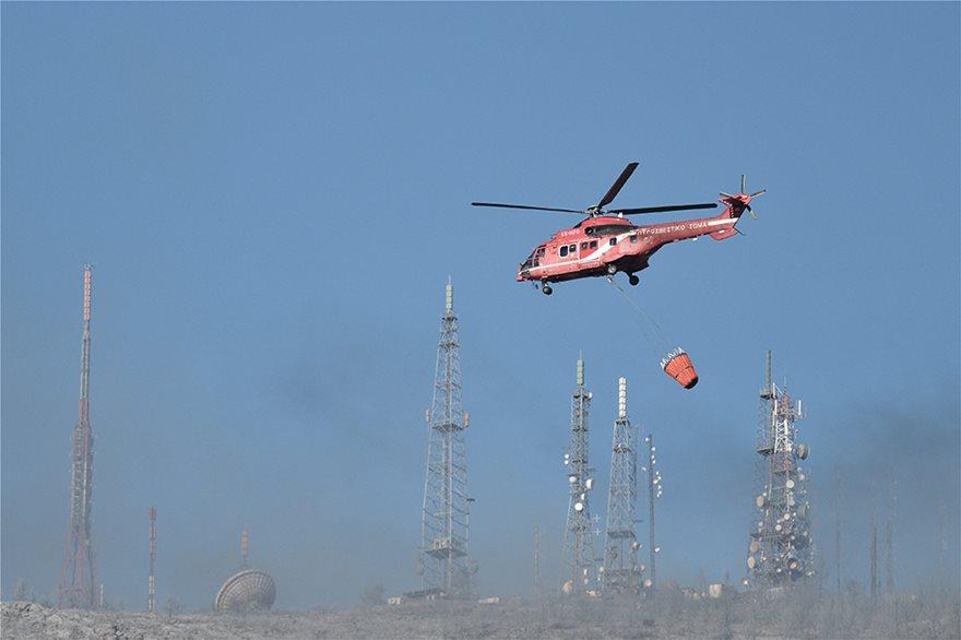 Φωτιά στον Υμηττό: Δεν υπάρχει ενεργό μέτωπο λέει η πυροσβεστική - Φωτογραφία 4