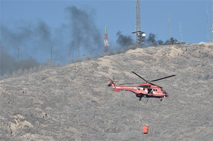 Φωτιά στον Υμηττό: Δεν υπάρχει ενεργό μέτωπο λέει η πυροσβεστική - Φωτογραφία 5