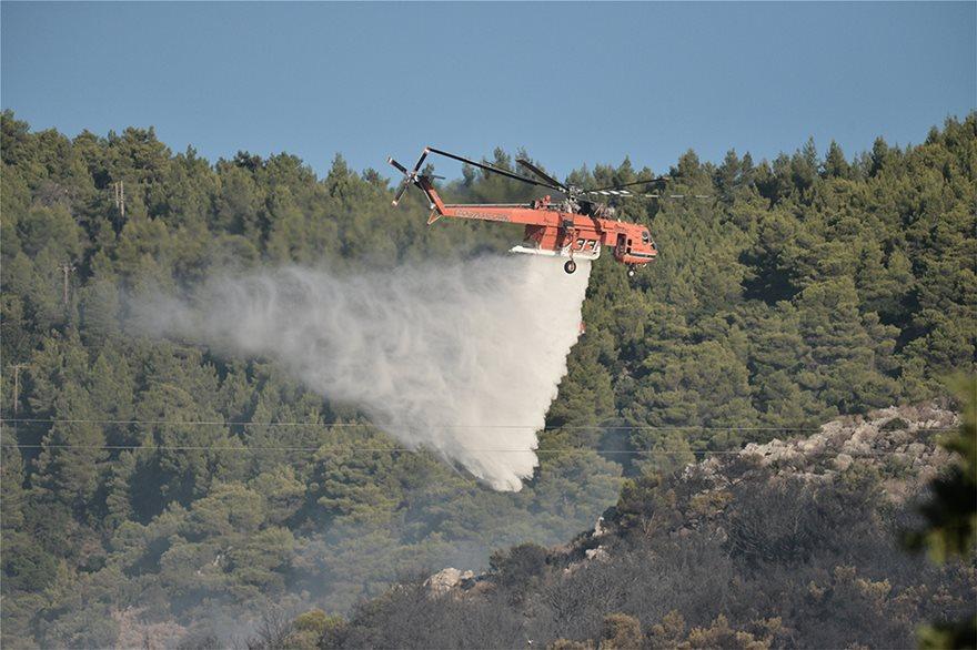 Φωτιά στον Υμηττό: Δεν υπάρχει ενεργό μέτωπο λέει η πυροσβεστική - Φωτογραφία 6
