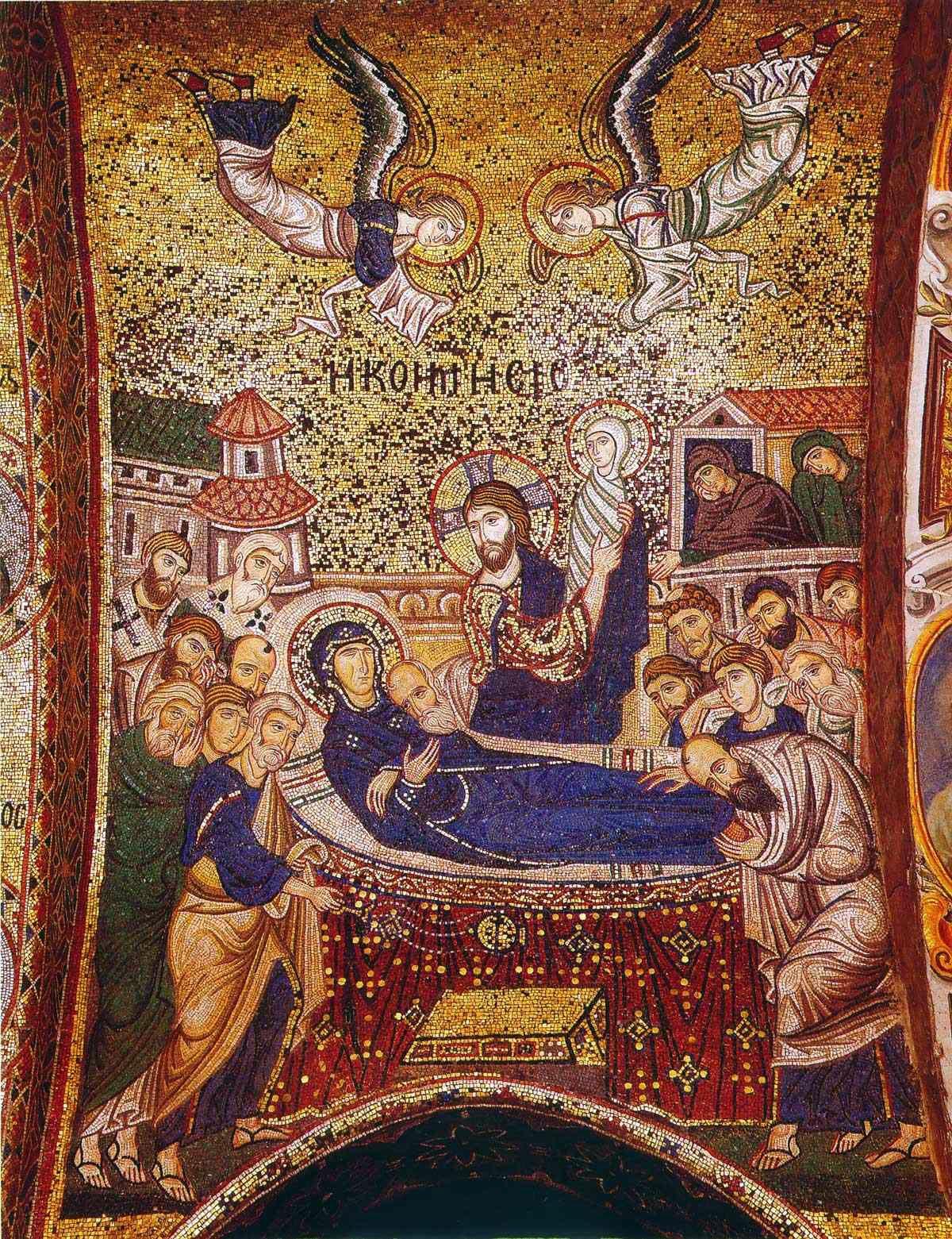 Η Μετάσταση της Θεοτόκου κατά τον άγιο Ανδρέα Κρήτης - Φωτογραφία 1