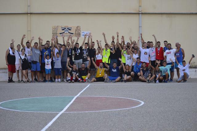 Με επιτυχία ολοκληρώθηκε το τουρνουά μπάσκετ 3 on 3 - Beyond your Limits- Anniversary X που διοργανώθηκε στον Αστακό! -[ΦΩΤΟ: Make art] - Φωτογραφία 1