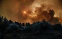 Εύβοια: Ο καπνός της πυρκαγιάς φαίνεται από το Διάστημα - Φωτογραφία 1