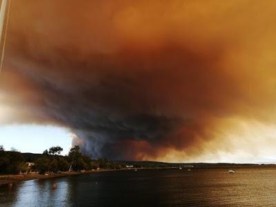 Καίγονται τα πρώτα σπίτια στην Εύβοια - Εκκενώθηκαν τρία χωριά (pics+video) - Φωτογραφία 1