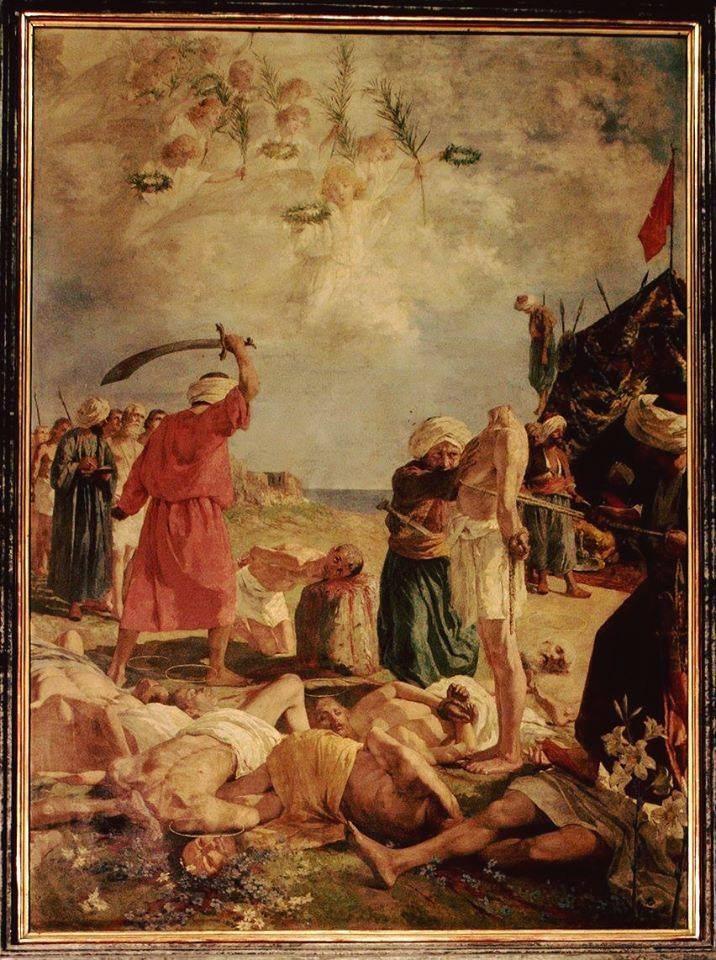 14 Αυγούστου 1480-Το μαρτύριο των 800 αγίων κατοίκων του Οτράντο - Φωτογραφία 1