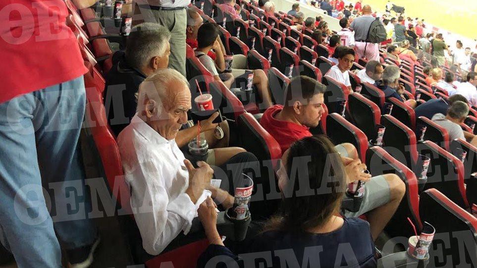 Στα... VIP του «Γεώργιος Καραϊσκάκης» o Τσοχατζόπουλος - Φωτογραφία 1
