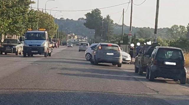 Τροχαίο ατύχημα στη ΒΟΝΙΤΣΑ – Από θαύμα δεν προκλήθηκαν τραυματισμοί (ΔΕΙΤΕ ΦΩΤΟ) - Φωτογραφία 1