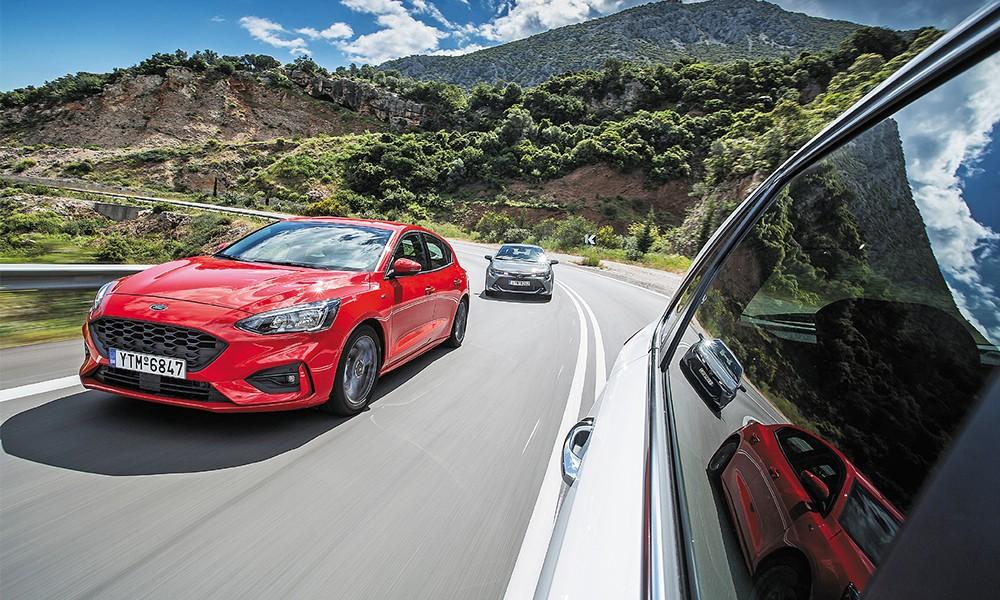 Ford Focus 1.0 EcoBoost VS Hyundai i30 1.0T VS Toyota Corolla 1.2T - Φωτογραφία 3