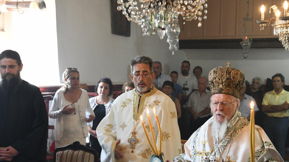Συγκινητικός Δεκαπενταύγουστος στην Ίμβρο παρουσία του Οικουμενικού Πατριάρχη - Φωτογραφία 1