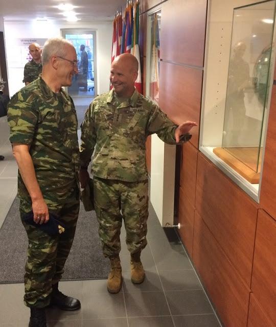 Επίσημη Επίσκεψη Αρχηγού ΓΕΣ στην Έδρα των Στρατιωτικών Δυνάμεων των ΗΠΑ στην Ευρώπη - Φωτογραφία 6