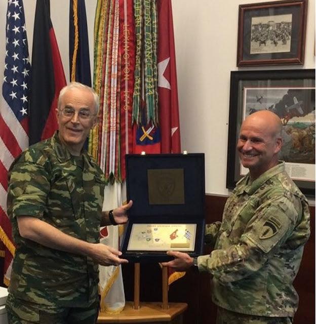 Επίσημη Επίσκεψη Αρχηγού ΓΕΣ στην Έδρα των Στρατιωτικών Δυνάμεων των ΗΠΑ στην Ευρώπη - Φωτογραφία 7