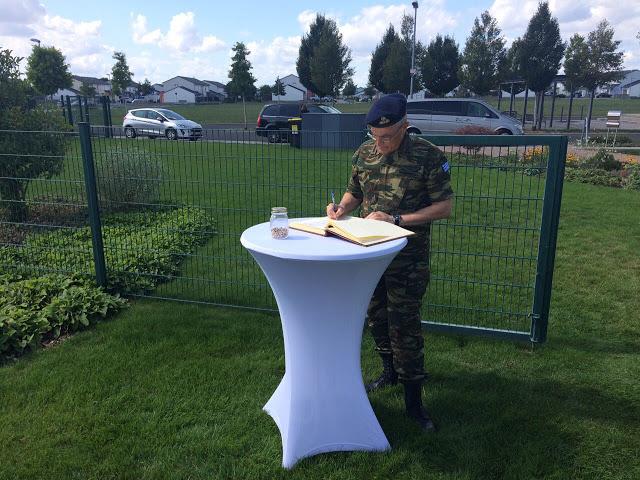 Επίσημη Επίσκεψη Αρχηγού ΓΕΣ στην Έδρα των Στρατιωτικών Δυνάμεων των ΗΠΑ στην Ευρώπη - Φωτογραφία 9