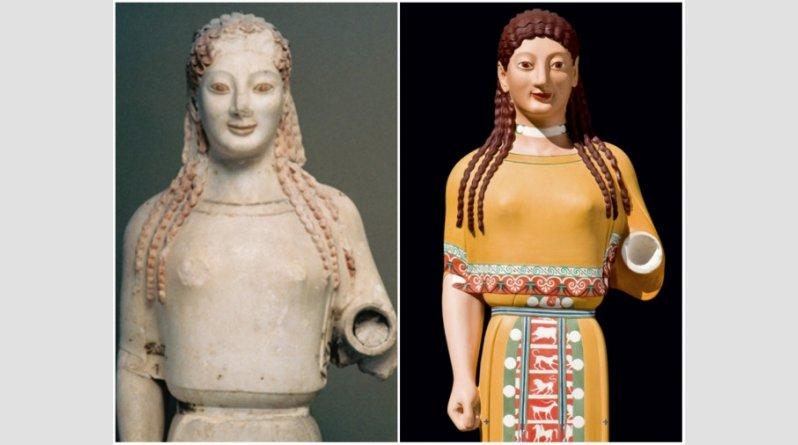 Ροζ, κίτρινα, σιέλ! Έτσι ήταν στην πραγματικότητα τα αρχαία ελληνικά αγάλματα (pics) - Φωτογραφία 10
