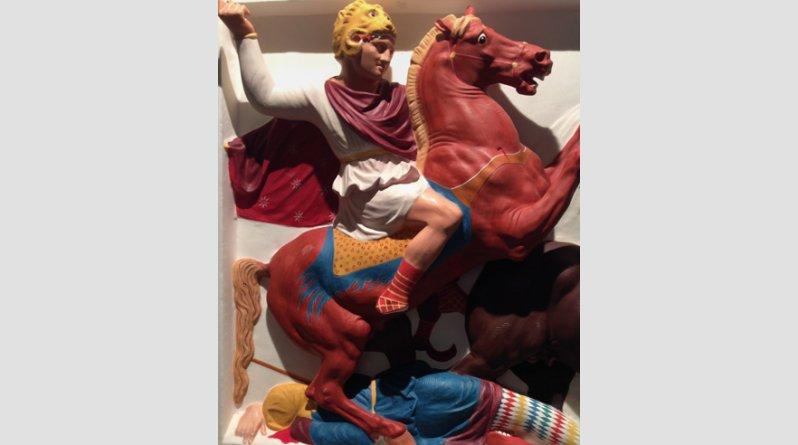 Ροζ, κίτρινα, σιέλ! Έτσι ήταν στην πραγματικότητα τα αρχαία ελληνικά αγάλματα (pics) - Φωτογραφία 11