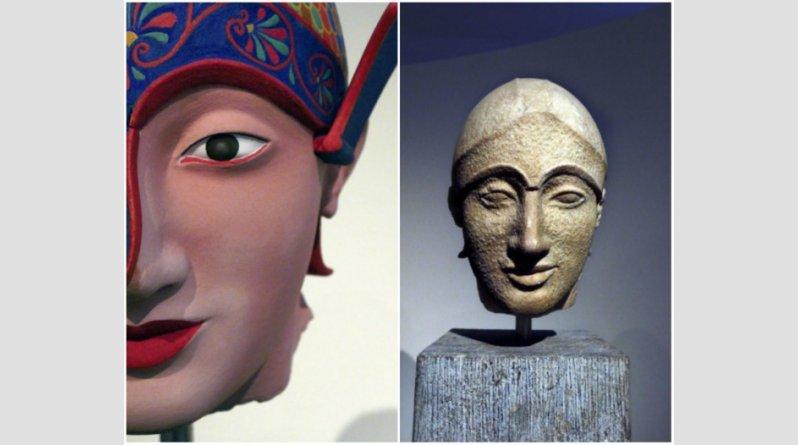 Ροζ, κίτρινα, σιέλ! Έτσι ήταν στην πραγματικότητα τα αρχαία ελληνικά αγάλματα (pics) - Φωτογραφία 3