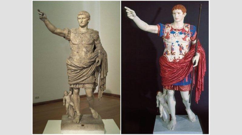 Ροζ, κίτρινα, σιέλ! Έτσι ήταν στην πραγματικότητα τα αρχαία ελληνικά αγάλματα (pics) - Φωτογραφία 4
