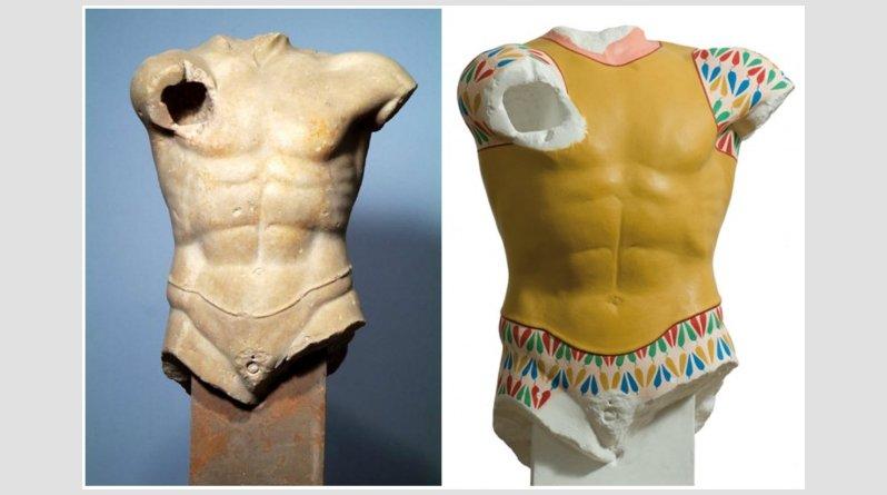 Ροζ, κίτρινα, σιέλ! Έτσι ήταν στην πραγματικότητα τα αρχαία ελληνικά αγάλματα (pics) - Φωτογραφία 5