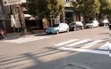 Διαγραμμίσεις διαβάσεων και θέσεων στάθμευσης λεωφορείων στα Γρεβενά (εικόνες)