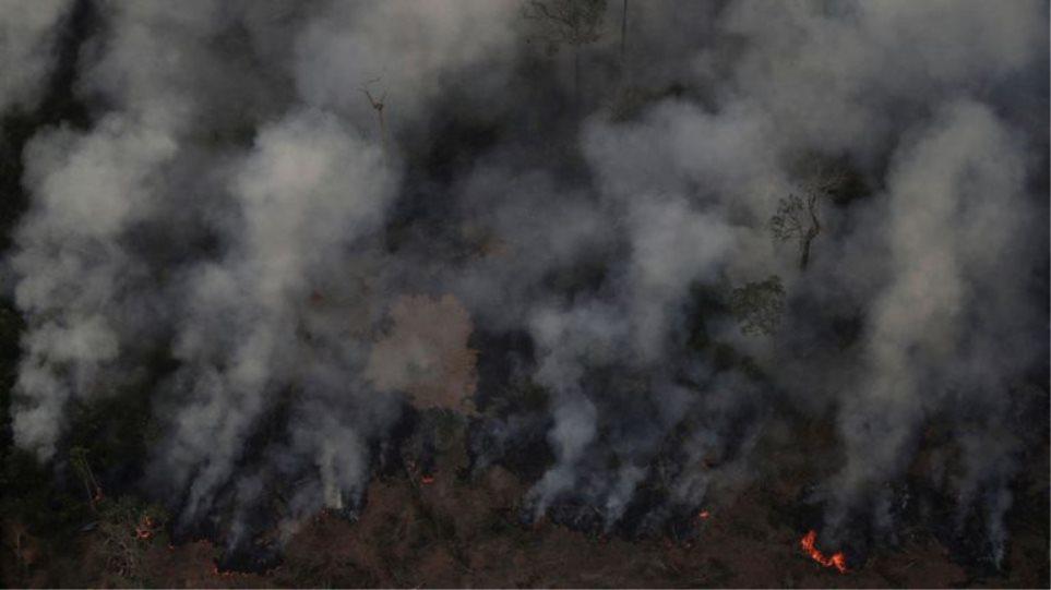 Πυρκαγιές στον Αμαζόνιο: Οικολογική «βόμβα» - Στοιχεία που σοκάρουν - Φωτογραφία 1