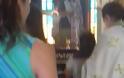Βαπτίστηκε Χριστιανή Ορθόδοξη πρώην Μάρτυρας του Ιεχωβά στο Αγρίνιο (φωτο)