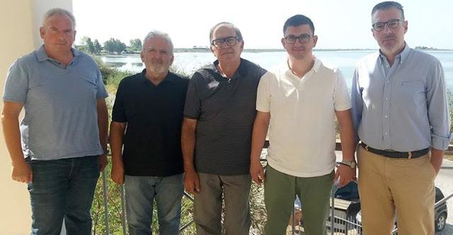 Συνάντηση του ΦΔ Λιμνοθάλασσας – Ακαρνανικών με τον Γιάννη Τριανταφυλλάκη - Φωτογραφία 1