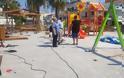 Από την Πλατεία «Αποστολίδη» στην Ιαλυσό , ξεκίνησε η τοποθέτηση των τριάντα δύο (32) νέων πιστοποιημένων παιδικών χαρών στη Ρόδο
