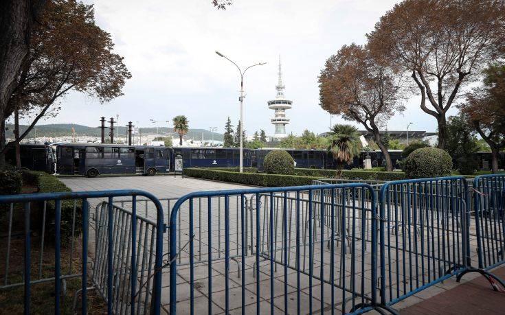 Φρούριο η Θεσσαλονίκη για τη ΔΕΘ: Επιστρατεύονται ελικόπτερα και υδροφόρες με κανόνια νερού - Φωτογραφία 1