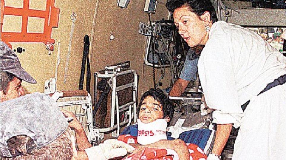 Σεισμός Πάρνηθας 1999: Ο πυγμάχος Παναγιώτης Πολυκανδριώτης που θυσιάστηκε για τα παιδιά του - Φωτογραφία 1