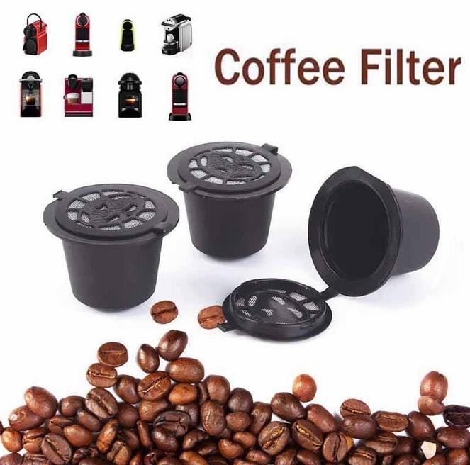 Nespresso  Επαναγεμιζόμενη Συμβατη  Κάψουλα με όλες τις καφετιέρες Nespresso - Φωτογραφία 3