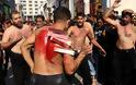 Αυτομαστιγωμάτα στον Πειραιά για την σιιτική γιορτή της Ασούρα (φωτογραφίες) - Φωτογραφία 3
