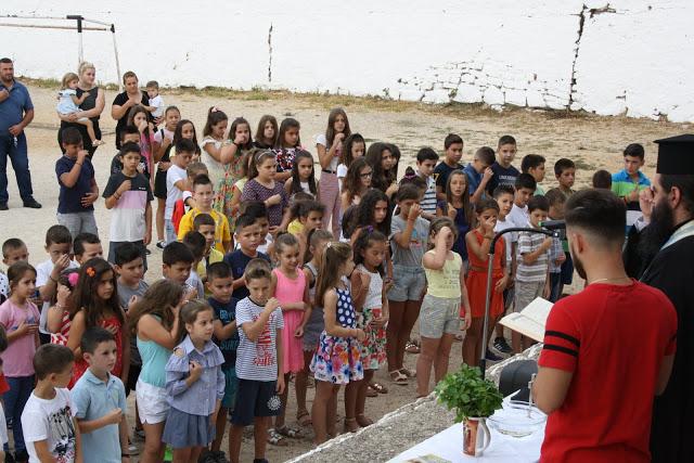 Έναρξη σχολικής χρονιάς - Αγιασμός στο Δημοτικό Σχολείο ΚΑΤΟΥΝΑΣ με το φακό του ΠΑΝΟΥ ΤΣΟΥΤΣΟΥΡΑ - Φωτογραφία 11