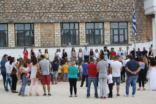 Έναρξη σχολικής χρονιάς - Αγιασμός στο Δημοτικό Σχολείο ΚΑΤΟΥΝΑΣ με το φακό του ΠΑΝΟΥ ΤΣΟΥΤΣΟΥΡΑ - Φωτογραφία 33