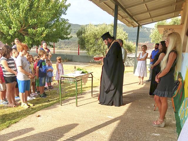 Πρώτο κουδούνι και στο Δημοτικό Σχολείο στο ΡΙΒΙΟ  - [ΦΩΤΟ] - Φωτογραφία 4