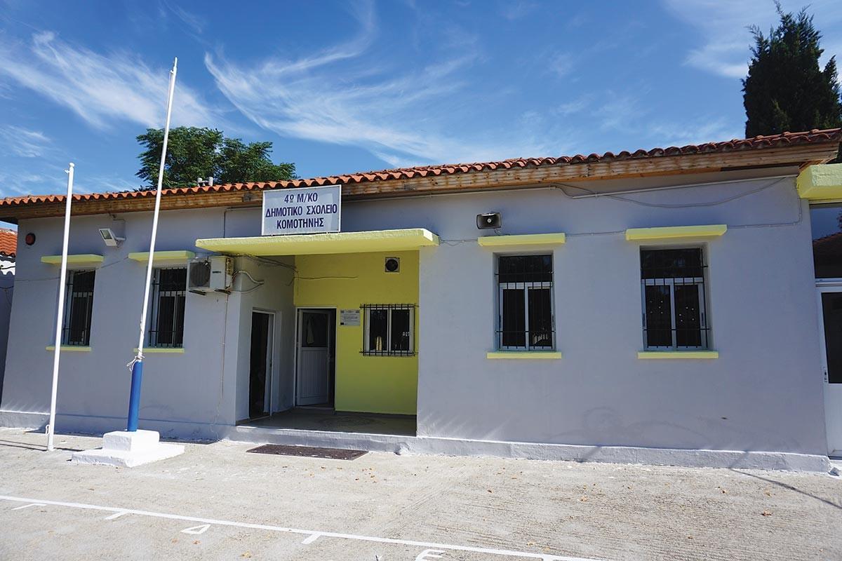 Ο στρατός ανακαίνισε το μειονοτικό σχολείο Ηφαίστου - Φωτογραφία 4