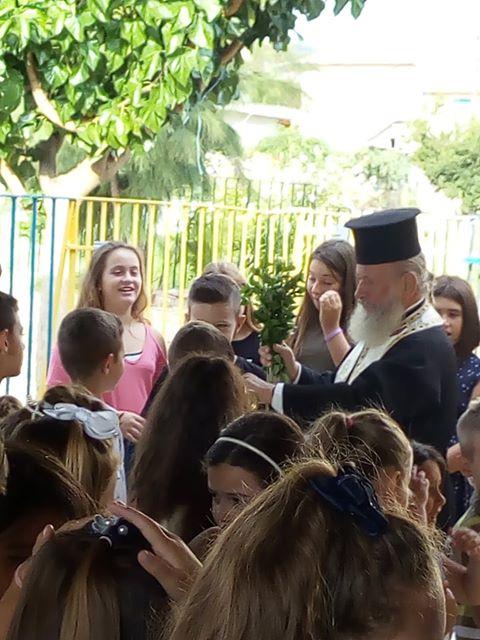Ο αγιασμός στο δημοτικό σχολείο ΔΡΥΜΟΥ Βόνιτσας - [ΦΩΤΟ] - Φωτογραφία 11