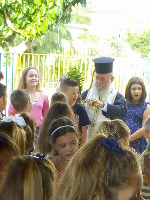 Ο αγιασμός στο δημοτικό σχολείο ΔΡΥΜΟΥ Βόνιτσας - [ΦΩΤΟ] - Φωτογραφία 4