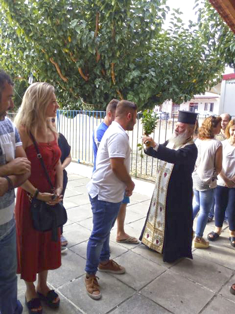 Ο αγιασμός στο δημοτικό σχολείο ΔΡΥΜΟΥ Βόνιτσας - [ΦΩΤΟ] - Φωτογραφία 5