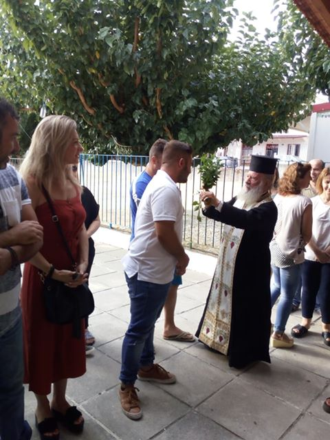 Ο αγιασμός στο δημοτικό σχολείο ΔΡΥΜΟΥ Βόνιτσας - [ΦΩΤΟ] - Φωτογραφία 8