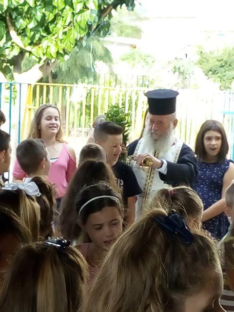 Ο αγιασμός στο δημοτικό σχολείο ΔΡΥΜΟΥ Βόνιτσας - [ΦΩΤΟ] - Φωτογραφία 9