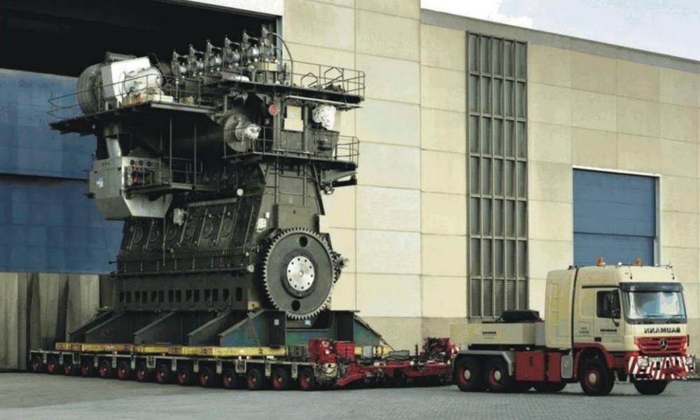 Ο μεγαλύτερος κινητήρας στον κόσμο - Φωτογραφία 1